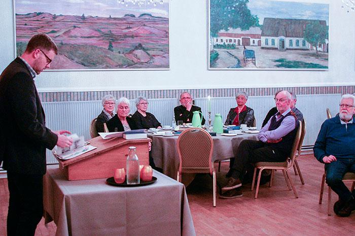 Afstemningsfesten på Frøslev Kro blev en god og interessant aften. Foto Ditte Vennits Nielsen