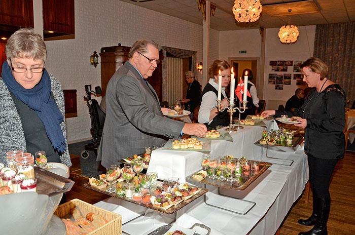 Mange kiggede forbi for at fejre Bov Kros jubilæum. Foto Tove Hansen