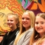 Maria Rieder, Laura Hansen og Alison Langhede Johannsen Foto Jonna Rønn Olesen