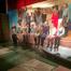 6. klasse havde stor succes med at opføre teaterstykke på Kollund Skole.Foto Frederik Johannsen