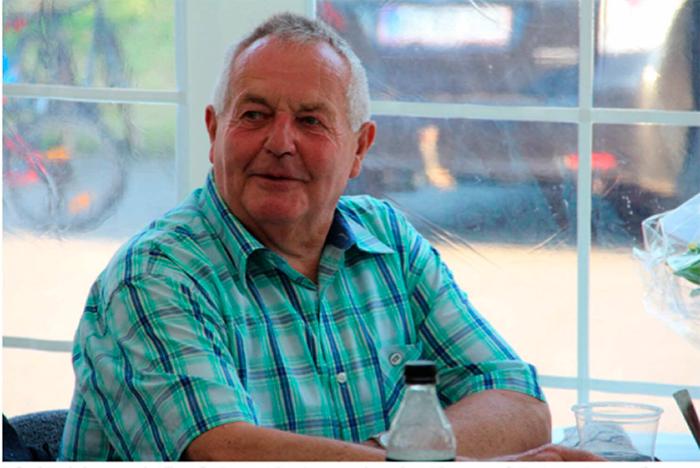 Børge Knudsen har i 40 år ydet en frivillig indsats i Nybøl Idrætsforening.
