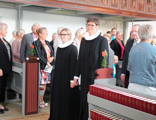 Den nye sognepræst kom godt i gang