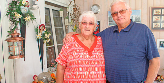 Elna og Hans Petersen har på lørdag været gift i 50 år.