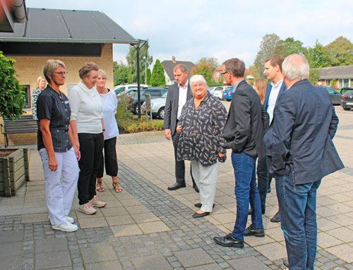 Ældreminister besøgte Rønshave