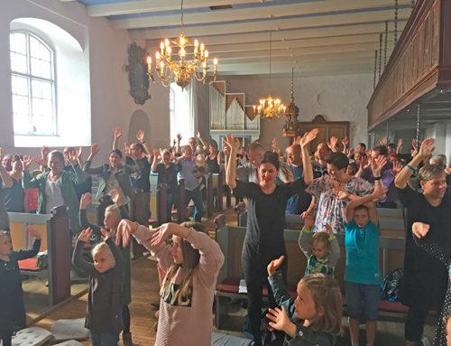 Salmeswing i Bov Kirke
