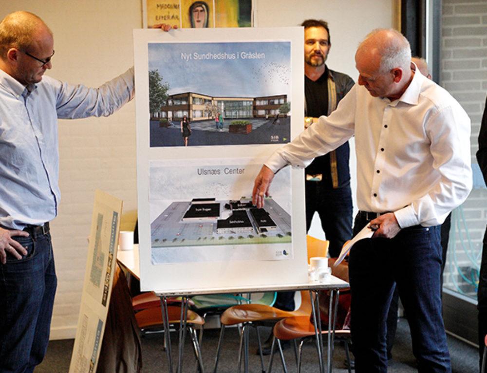 Gråsten får nyt sundhedshus i Ulsnæs-Centret