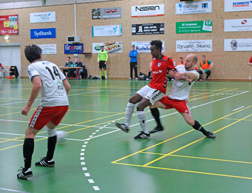 Bov IF Futsal spillede i højt tempo