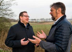 Daniel Staugaard og Carl-Erik Jensen er enige om, at en lokalplan skal holde længere end 5 år.
