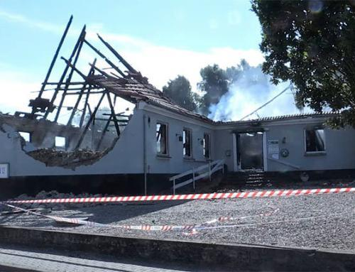 Brand i Kværs Forsamlingshus