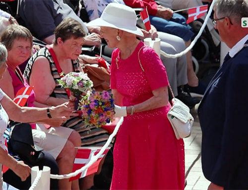 Traditionelt royalt besøg i Gråsten