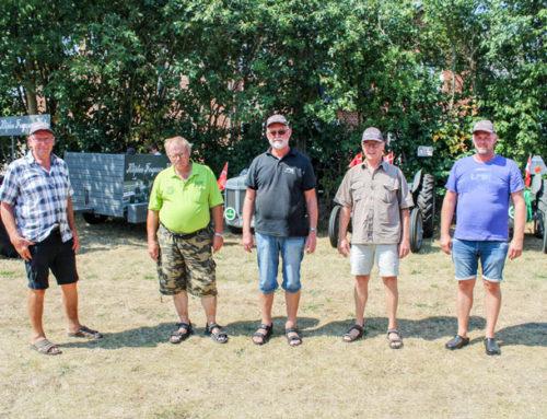 LAH holdt sommerfest med veterantraktorer