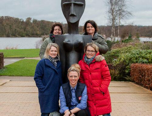 Frivillige bag Kvindemessen 2019