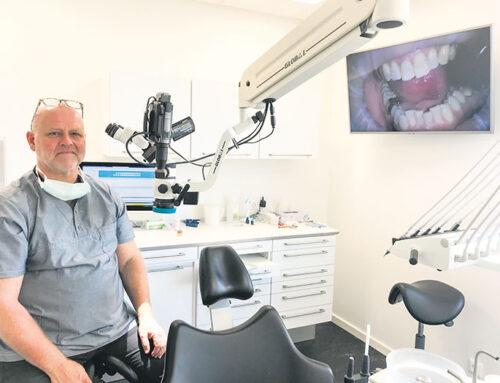 Tandlæge med ekspertise i at fjerne tandlægeskræk