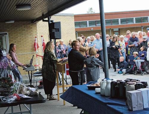 Fjordskolen i Kruså blev indviet