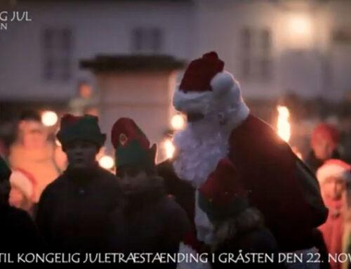 Juletræstænding i Gråsten 2019