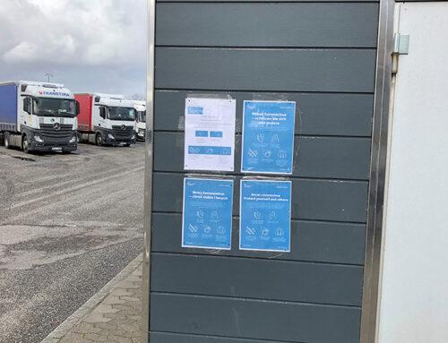 Toldpladsen i Padborg får bedre hygiejne