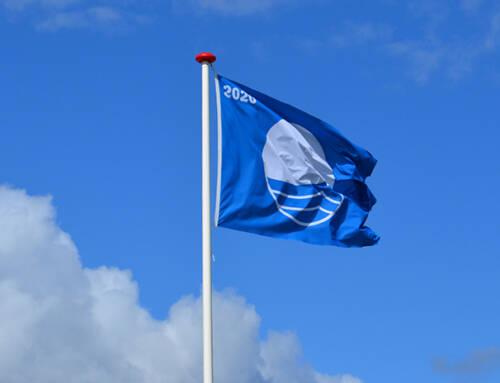 Det Blå Flag er tilbage på Kollund Badestrand