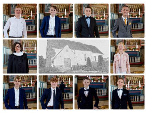 De unge konfirmanders store dag i Holbøl Kirke