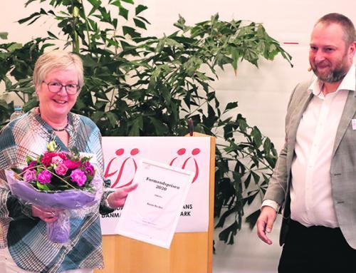 Lokal folkedanserforeningsformand vinder Formandspris