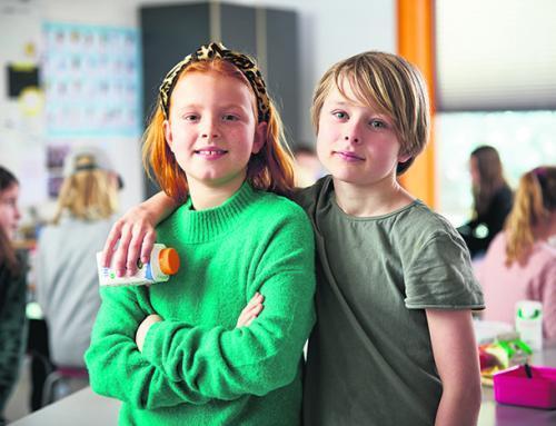 Fjordskolen får skolemælkspenge til at samle mad i naturen