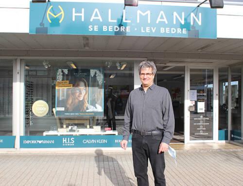 Optik Hallmann må godt holde åbent