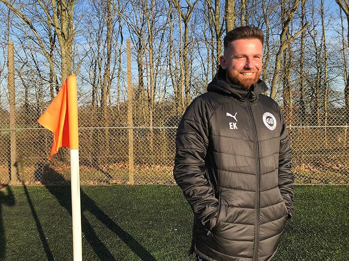 Ny cheftræner i GB er formet af et liv med fodbold