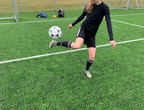 15-årig Padborg pige er stort fodboldtalent