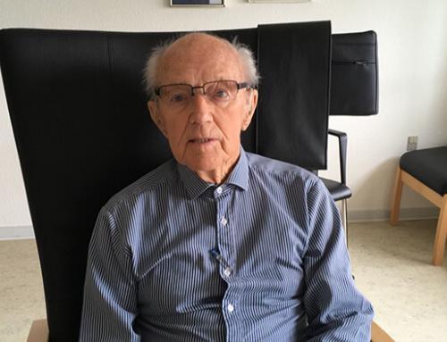 Kendt speditør i Padborg blev 96 år