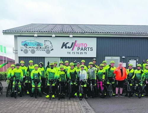 Cykelryttere besøgte Padborg