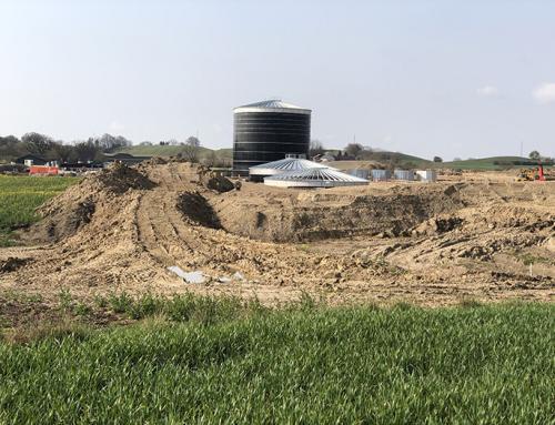 Der må fortsat graves ved biogasanlæg i Kværs
