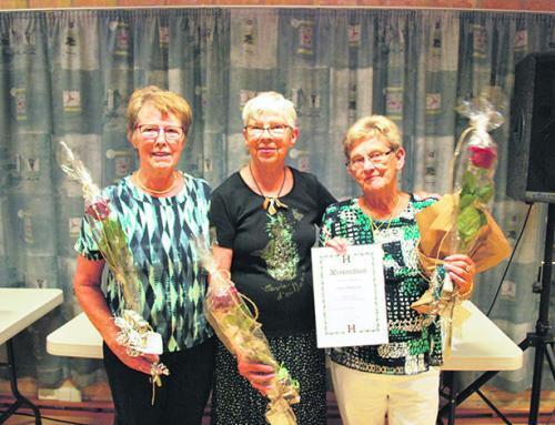 Generationsskifte i Kruså Husmoderforening