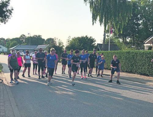 Royal Run i fint sommervejr i Vejbæk