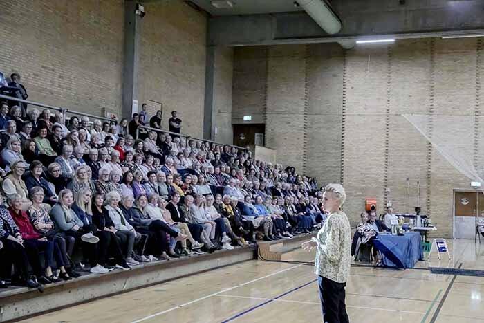 Efterårsmesse blev bragende succes med 327 deltagere