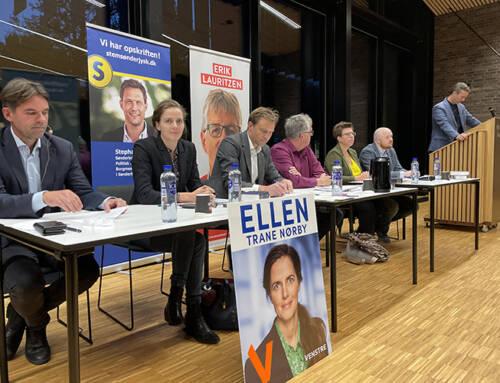 Første valgmøde med 80 gråstenere